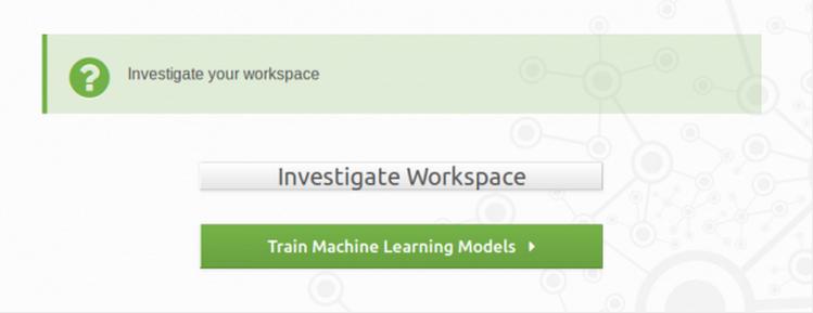 Investigate Workspace